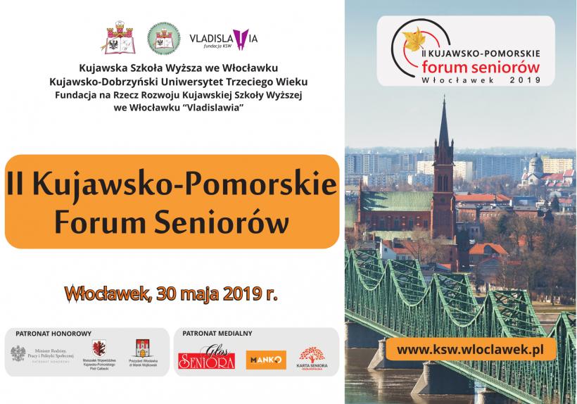 Drugie Kujawsko-Pomorskie Forum Seniorów we Włocławku 30 maja
