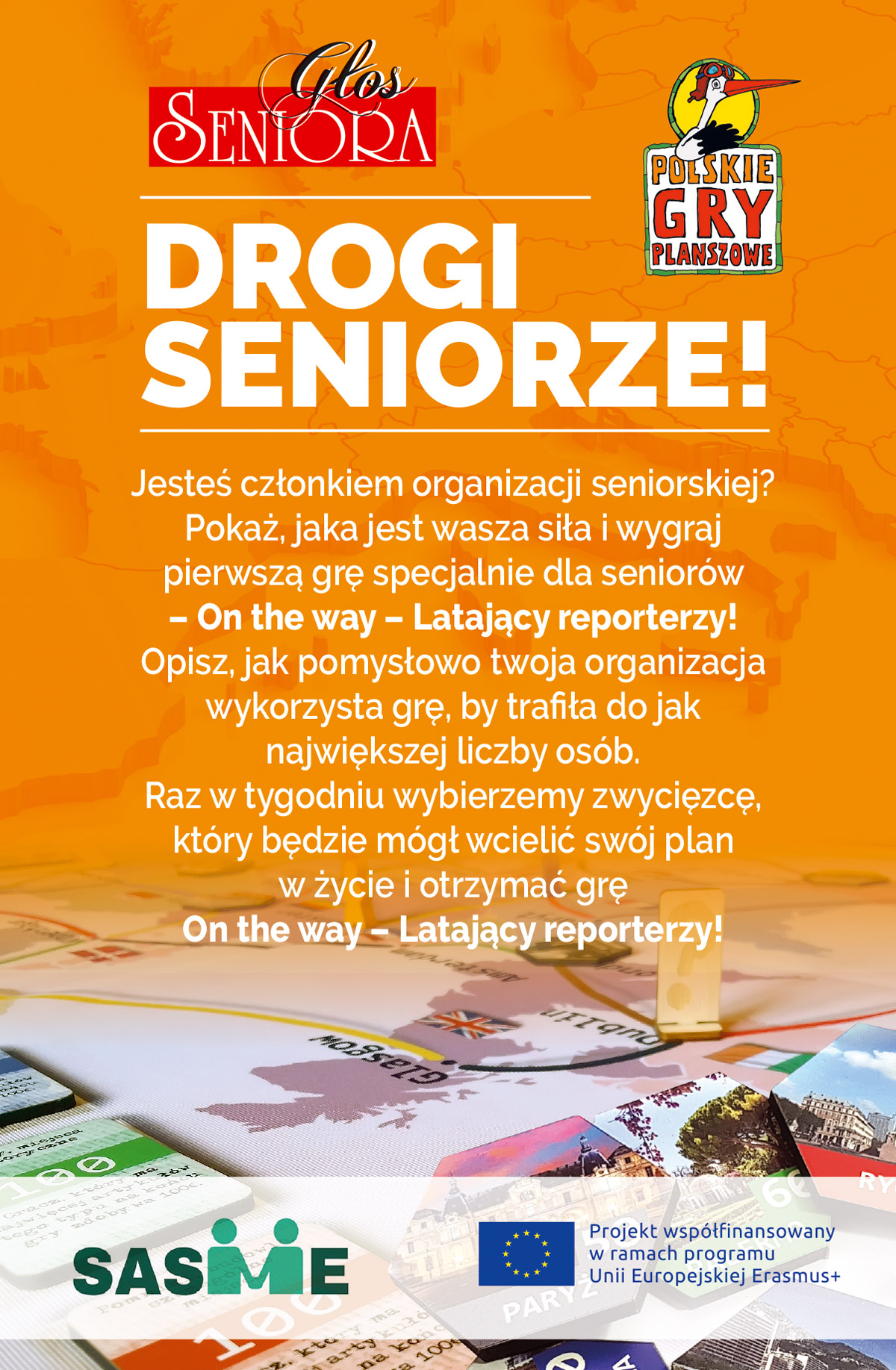 Gra On the way-Latający reporterzy